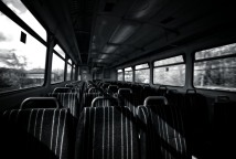 empty-train-carriage-mono