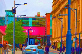 Manchester Neon Sign