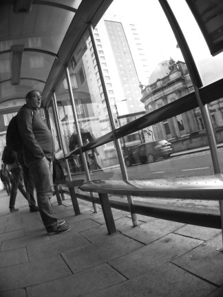 At the Bus Stop