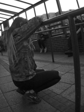 Crouching copy