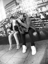 Enjoying a Coke