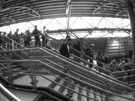 Stairs and Escalator