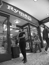 Stationary Outside Ryman